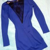 Платье-карандаш с кружевной спинкой,S-M