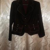пиджачок темно бордового цвета