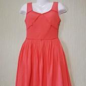 Шкарное,Фирменное платье Riess, размер uk 8(xs-s), новое, качественное, 100% шелк, мерки есть