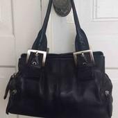 Кожаная женская фирменная сумка!!!