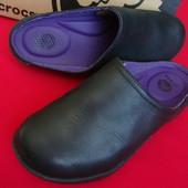 Сабо Crocs оригинал натур кожа 36 размер