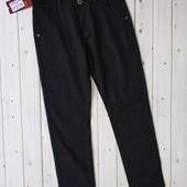 Коттоновые брюки,штаны черного цвета, джинсы