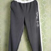 Женские брюки на манжетах 46