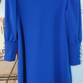 Красиве синє плаття 48р.