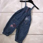 Стоп! ❤️ Модный джинсовый комбинезон-ромпер для девочки. Много лотов, заходите)