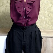 Собираем лоты!! Лёгкий комплект шорты +блуза, размер s-m