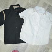 Дві сорочки на короткий рукав на 8-9 років
