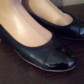 Легкие комфортные туфли-балетки р.37 стелька 24