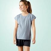 Отличный летний комплект пижама на девочку Pepperts Германия размер 122/128