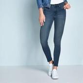 Классные женские джинсы super skinny fit с высокой посадкой Esmara Германия размер евро 36