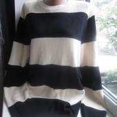Добротный мужской теплый свитер, р.16 в хорошем состоянии