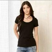 esmara . хлопковая  футболка с эмитацией кармана S 36/38+6замеры