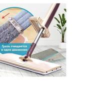 Швабра лентяйка с отжимом Cleaner 360 Spin Mop +2 моющие насадки
