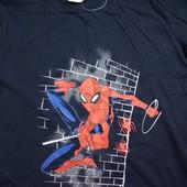 ~ Marvel ~ синий реглан со Спайдерменом, 134/140