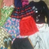 Пакет вещей девчонке в садик/4-6лет/+1пара обуви в подарок.