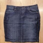 Симпатичная джинсовая юбочка