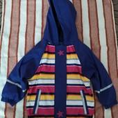 Нова куртка дощовик lupilu 86-92.