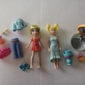 Курманные куколки Полли Покет и аксессуары