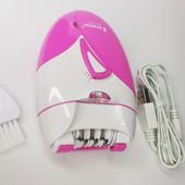 Универсальный эпилятор , электроэпилятор , триммер с фонариком на аккумуляторе, shinon sa7803 XV