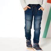 Классные термо джинсы джоггеры на мальчика Lupilu Германия размер 92