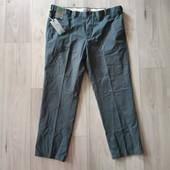 Фирменные новые мужские коттоновые брюки-чиносы р.42-31 на пот 52-53 и ПОБ 63