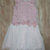 Платье на 6 лет нюанс на фото