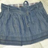 Стильна джинсова спідничка 46-48 розмір
