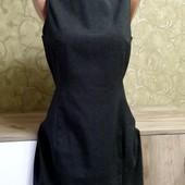 Собираем лоты!! Маленькое серое платье, размер 36