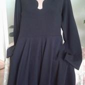 Фирменное женское черное платье р.24!!!