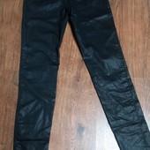 Стрейджевые брюки скины H&M, S