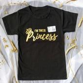 Літня розпродажа!Гарної якості футболка для сучасної принцеси!