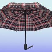 Зонт автомат разные цвета полный автомат(анти ветер) в 3 сложения