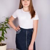новая юбка рост 146