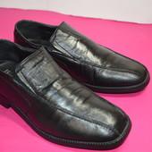Мужские кожаные туфли 43 р.стелька 28.5 см