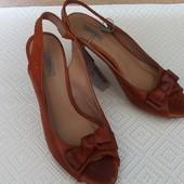 Кожаные босоножки Vero Cuoio (Веро Куойо).(Испания) р-р 38. стелька 24.3 см