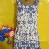 Очень красивое женское платье с кармашками Papaya (Папайа) рр 16 грудь 49-52 см !!!!!!!!!