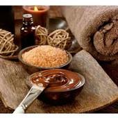 Гидрофильная  маска шоколадная питательная для лица и шеи