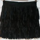 Интересная моделька юбки. бахрома