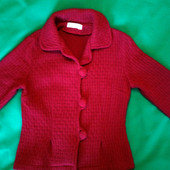 Тёплый пиджак для девочки
