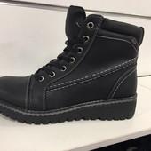 Теплые зимние ботинки 41 размер по стельке 26 см.