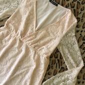 Персикове платтячко Miss Loona S, M. Дивіться заміри