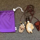 Подарочный набор:3подвески в мешочке