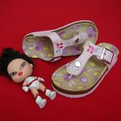 Тапочки сандалии Summer натур кожа 27 размер