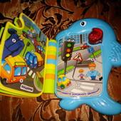"""Интерактивная игрушка, музыкальная книжка """"Сказочный дельфинчик"""" мой день"""