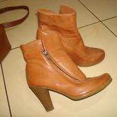 Ботиночки ботильоны кожаные в идеале