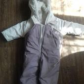 Зимний костюм куртка+комбез