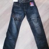 Отличные осенне-весенние джинсы на мальчика. Последний р.26