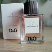 Легенда! Оригинал!! Dolce&Gabbana аnthology l`Imperatrice, 5мл