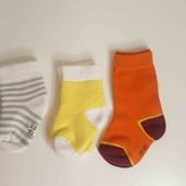 Мягусенькие носочки 3 пары, размер 19-22
