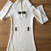 Вязаное платье р.10-12лет